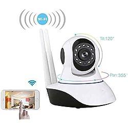 HD ip kamera webcam outdoor,Gegensprechfunktion HD ip kamera webcam outdoor,Pir-Sensor HD ip kamera webcam outdoor,mit Schwenk-Neige,Nachtsicht,Zwei-Wege-Audio,SD-Karte bis zu 64 GB für Storage