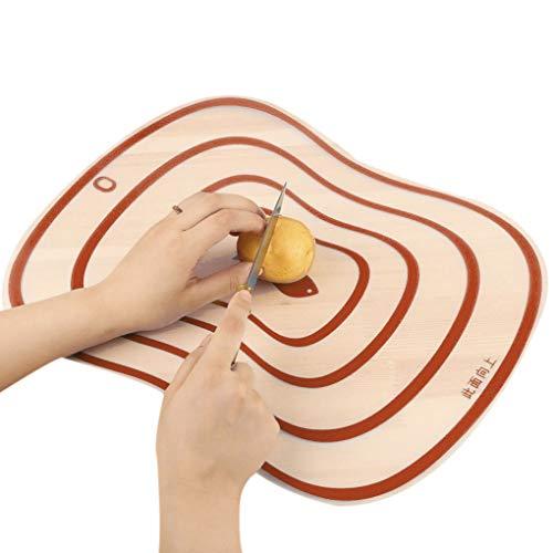 YUANYUAN520 Hackbrett 0,5X23,5 cm Küchenblöcke à découper outil Flexibel Transparenter Planche à découper Cuisine PP-Planches à découper (Couleur, Taille : 30.5x23.5cm)
