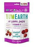 YumEarth - Piruletas Orgánicas de Frutas Vitamina C - 14 unidades