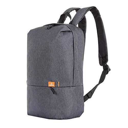 Leichter Faltbarer Travel Casual Daypack Kobwa 10L 195g Wasserdicht Freizeit Einfache Rucksack Wasserdichte Student School Tasche für Männer Frauen Outdoor Sports Shopping(Grau)