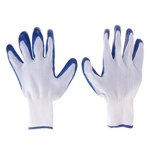 Longsw 1 Paar Handschuhe aus Gummi für Tiere, Hamster gegen Bücken Baden Kleintiere, Weiches Zubehör