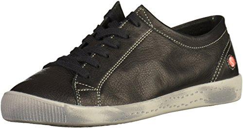 Softinos Damen Isla Sneakers Schwarz