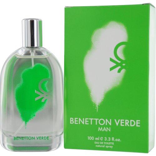 Benetton verde man edt spray, 100ml