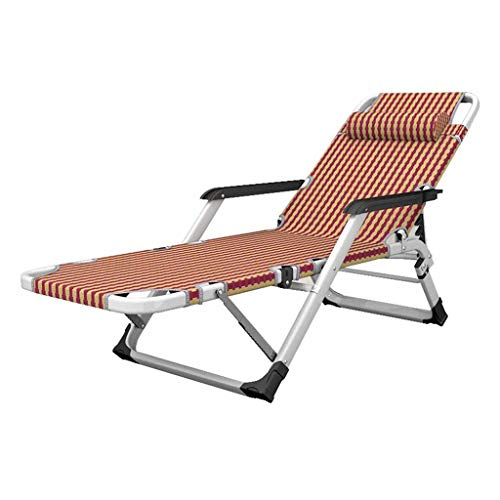 Fauteuil inclinable Pliant Sun Lounger Deck Chaises Lounge Chair Zero Gravity Garden Textilene réglable