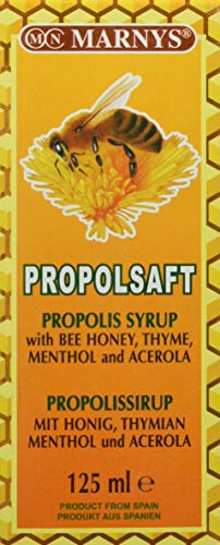 Marnys Propolsaft, 1er Pack (1 x 125 ml) - Menthol-sirup