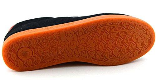 NobS Scarpe Tai Chi Scarpe Delle Scarpe Di Tela Scarpe Di Addestramento Militare Calza Gli Uomini E Scarpe Donna Black