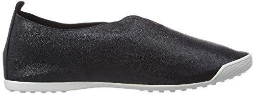 P1 Shot Damen Slipper Schwarz (black metallic)