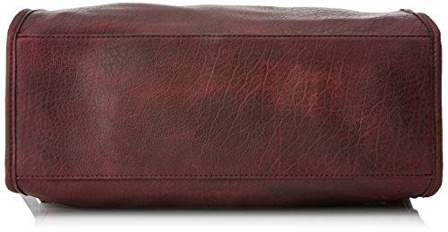XTI 85858, Borsa a spalla Donna, 41x24x12 cm (W x H x L) Rosso (Burdeos)