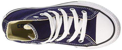 Converse Unisex-Kinder CTAS Hi Canvas Seasonal Hohe Sneaker Blu (Midnight Indigo)