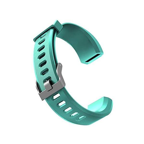 DNelo Reemplazo de Silicona Muñequera para Veryfit Id115 Id115Plus Inteligente Pulsera Correa de Reloj - para Veryfit… 1