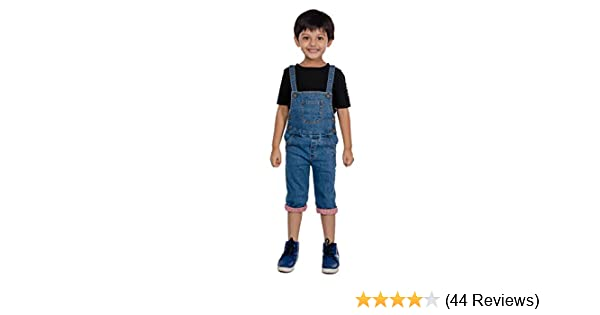 19d99debc48c Olele® Kids Denim Dungarees for Boys