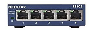 NETGEAR FS105UK ProSAFE 5 Port Fast Ethernet Unmanaged Switch