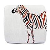 Ghh11 Cuscino di Sostegno per la Vita Memory Cotton Nordic Tessuto Cartoon Carino Cuscino Lombare Cuscino Car Chair Office Summer Back Pad Vita (Color : Blue, Size : 32X30X10CM)