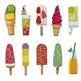 Simpatici segnalibri colorati per bambini, ragazzi e ragazze, 30 pezzi, tema estivo