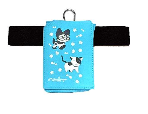 Insulinpumpe Universal Tasche mit Gürtel - Kawaii Kittens/Kätzchen -