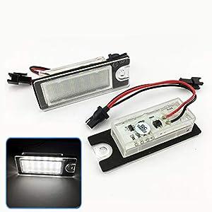 LED Kennzeichenbeleuchtung Nummernschildbeleuchtung Kennzeichen mit Zulassung Canbus Plug/&Play V-03250