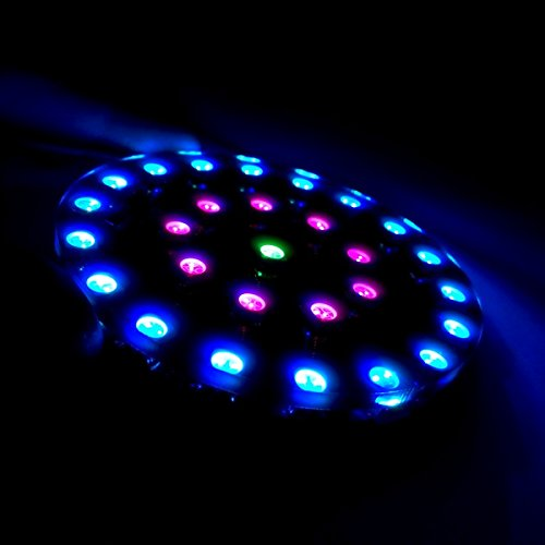 DIY WS2812 Wearable RGB LED Crystal Energy Ring Kit (Wearable-kit)