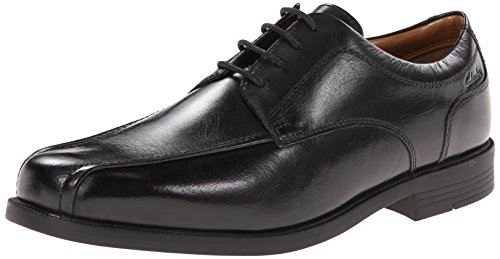 Clarks Beeston Stride Oxford Black Leather