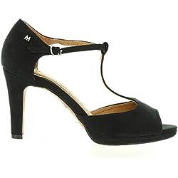 Schuhe ferse für Damen MARIA MARE 65836 TEXT SUAVE NEGRO Schuhgröße 41