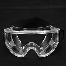 Atoz prime PC Lens Protective Glasses Splash Proof Safety Goggles Breather Valve