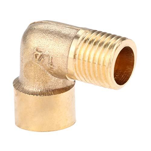 1 Pc Messing Fitting Winkel 90 Grad 1/4