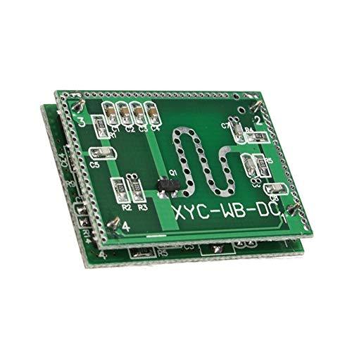 41%2Bz6EvXlRL - QXY ZYQ 5.8GHZ Módulo de Sensor de Radar de microondas Interruptor de detección Inteligente 6-9M Control de Inicio módulo