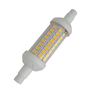 Aoxdi 1X R7S LED Bulb Lighting 5W, Warm White, 78mm SMD 2835 LED Ceramic Light Bulb, 78mm R7S LED Lamp, AC220-240V