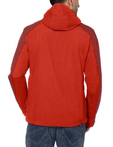 VAUDE giacca da uomo Men' s Escape Pro Jacket Lava