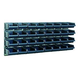 raaco Sichtboxen-Wandpaneele mit 32 Sichtboxen, 139182