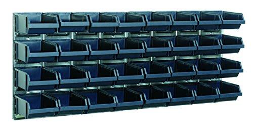 raaco 139182 Wandpaneele mit 32 Sichtboxen