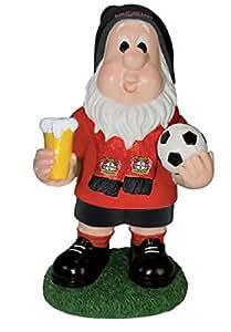 Bayer 04 Leverkusen Gartenzwerg Fan 28 cm Zwerg Fussballzwerg