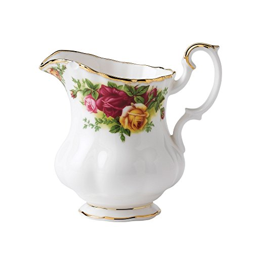 Royal Albert Old Country Roses Kaffeebecher, mehrfarbig Kaffeesahne gold Old Country Roses Bone China