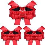 Dorical Damen Kleidung Dekoration Bogen Kragen Armband 3-teiliges Set,Frauen Mode Kleid Dekorativ Schmetterling Halskette Ring Und Armband Passen