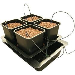 Nutriculture WILMA System - Hydrokultur Aeroponic 4 Pflanzen Growset Aufzucht