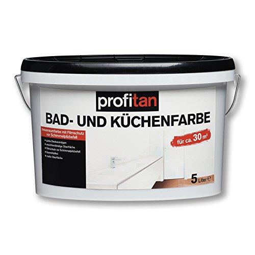 ROLLER profitan Bad- und Küchenfarbe - Innenfarbe - weiß - 5 Liter