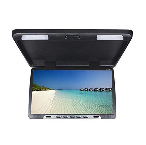 JKYQ HD 22 Zoll USB Auto 1080P Auto Dachmontage Monitor Player Flip Up/Down Auto Decke Kopf Display/Drop Down LCD-Monitor (22 Zoll Monitor 1080p)