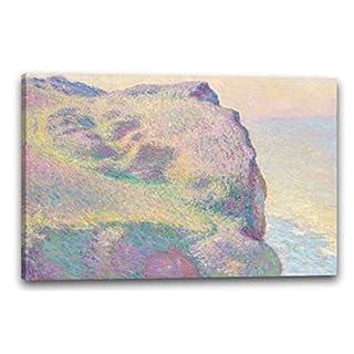 Canvas Print (120x80cm): Claude Monet - The Pointe du Petit Ailly