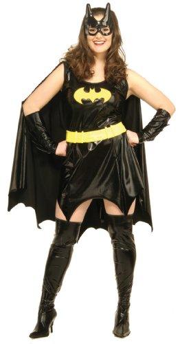 Batgirl Kostüm für Damen Gr. XL, ()