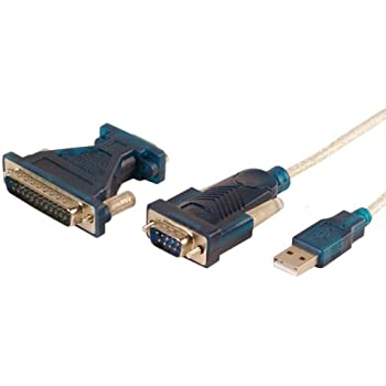 USB to RS232 Adapter Kabel 9 pol. Sub-D Stecker mit