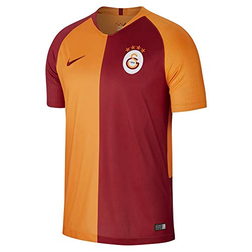 Nike Herren Galatasaray Breathe Stadium Jersey Short-Sleeve Home Trikot, Vivid orange Pepper red, S