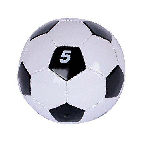 zhuotop PVC Classic schwarz weiß Standard Fußball Student Training professionellen Match Fußball Größe 345, 5# -