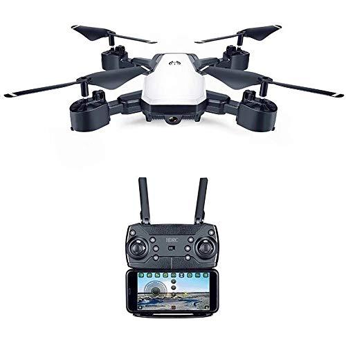 Linbing123 Portabler Quadrocopter, Drohne mit Langer Ausdauer und Fester Höhe, Headless-Modus/Altitude Hold / 3D Flips, Gestenfoto, WiFi-Videobildschirm-Echtzeitübertragung