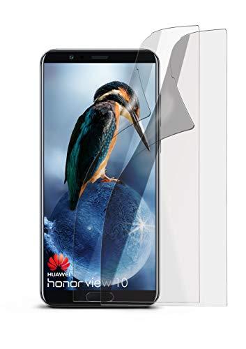 2X Huawei Honor View 10   Schutzfolie Matt Bildschirm Schutz [Anti-Reflex] Screen Protector Fingerprint Handy-Folie Matte Bildschirmschutz-Folie für Huawei Honor View 10 Bildschirmfolie