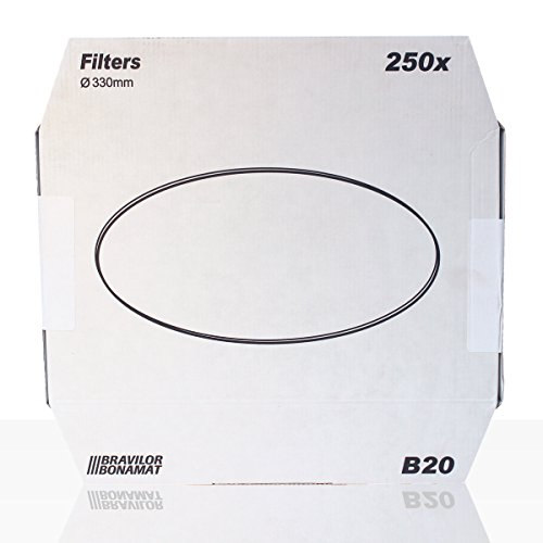 Bonamat Bravilor B20 Flachfilter 250Stk. Kaffeefilter 330mm