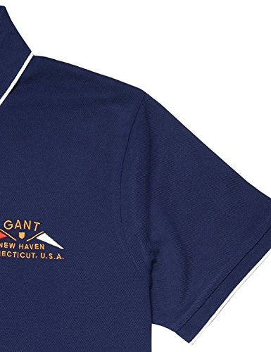 Gant Herren Poloshirt mehrfarbig navy 403 Shadow Blue