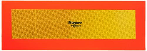 CARGOPARTS HICO Reflex Warntafel für Auflieger und Anhänger 57x20 cm