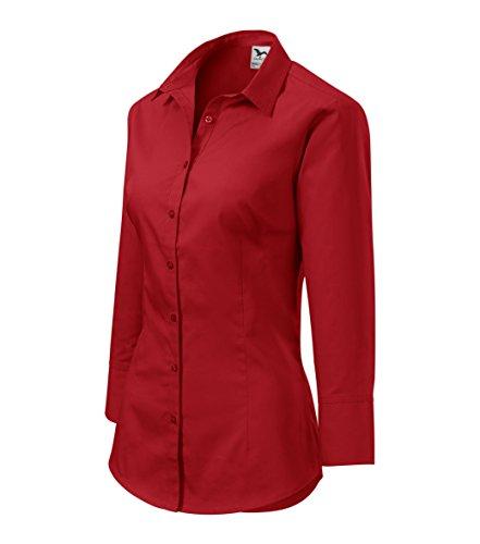 owndesigner-by-adler-blusa-3-4-de-mujer-clasica-corte-elegante-color-rojo-talla-m