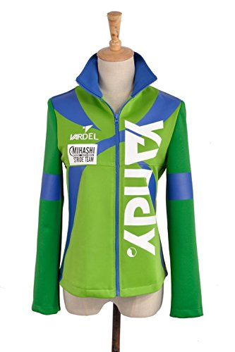 High Boy Kostüm School - Prince of Stride MIHASHI High School kamoda Kei kamoda Yu Shima Aoi Boy Girl Sportswear Jacke Schule Uniform Cosplay Kostüm
