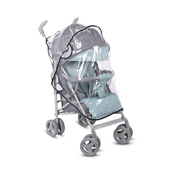 Lionelo Irma Folding Stroller with Backrest Adjustment 6 Inch Wheels Lionelo  10