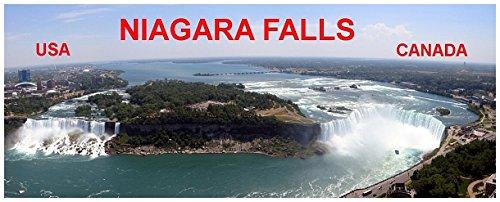 Kühlschrankmagnet - Panorama - NIAGARA FALLS USA CANADA 12.8cm x 5.5cm